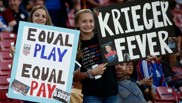 Score! An Exhaustive History of Pay Gap Wins Brought to You by the US Women's National Soccer Team
