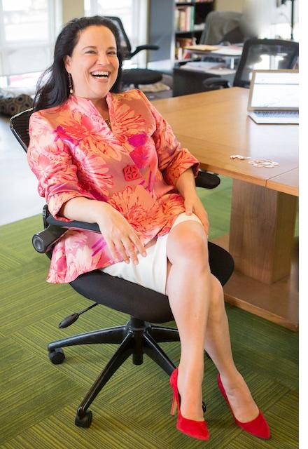Monica Peraza, a female business owner in Austin.